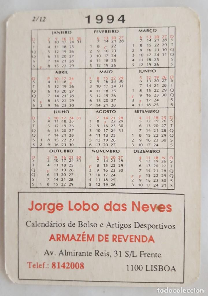 Coleccionismo Calendarios: CALENDARIO DE BOLSILLO 1994 HONDA STEED 400 (PORTUGAL) - Foto 2 - 156010502