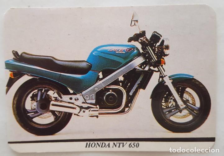CALENDARIO DE BOLSILLO 1994 HONDA NTV 650 ( PORTUGAL) (Coleccionismo - Calendarios)