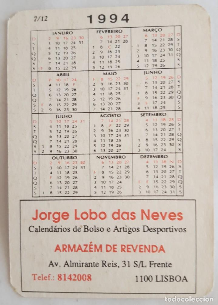 Coleccionismo Calendarios: CALENDARIO DE BOLSILLO 1994 HONDA NTV 650 ( PORTUGAL) - Foto 2 - 156010526