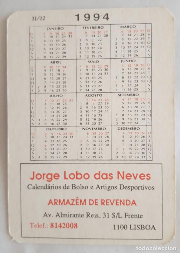Coleccionismo Calendarios: CALENDARIO DE BOLSILLO 1994 KEVIN SCHWANTZ Y EDDIE LAWSON (PORTUGAL) - Foto 2 - 156010774