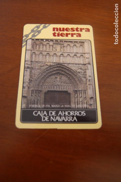 CALENDARIO. CAJA DE AHORROS DE NAVARRA. AÑO 1989. (Coleccionismo - Calendarios)
