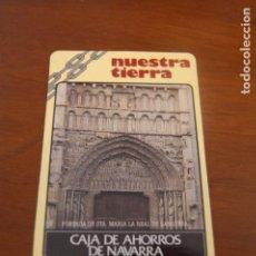 Coleccionismo Calendarios: CALENDARIO. CAJA DE AHORROS DE NAVARRA. AÑO 1989.. Lote 156312150