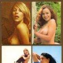 Coleccionismo Calendarios: 4 CALENDARIOS BOLSILLO - CHICAS 1977. Lote 156362626