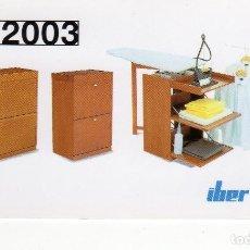 Coleccionismo Calendarios: CALENDARIO BOLSILLO - IBER - AÑO 2003. Lote 158136682
