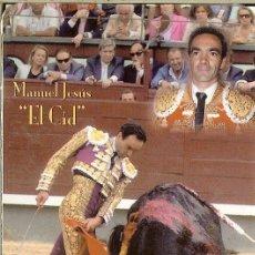 Coleccionismo Calendarios: CALENDARIO PUBLICITARIO TAURINO - 2007 - MANUEL JESÚS EL CID - PUBLICIDAD DE CARTAGENA. Lote 156662190