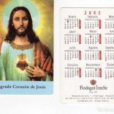 Coleccionismo Calendarios: CALENDARIO BOLSILLO - BODEGAS IRACHE - AÑO 2002. Lote 156681774