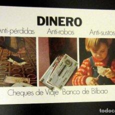 Coleccionismo Calendarios: CALENDARIO FOURNIER BANCO BILBAO 1975. Lote 156775562
