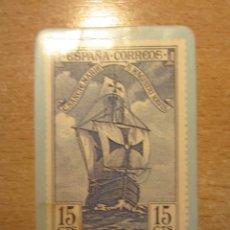 Coleccionismo Calendarios: CALENDARIO DE BOLSILLO DE SELLO DE CORREOS CON BARCO.. Lote 156810570