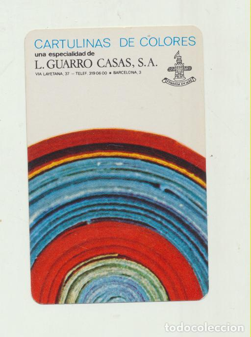 CALENDARIO FOURNIER. L. GUARRO CASAS 1972 (Coleccionismo - Calendarios)