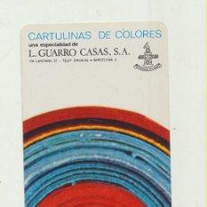 Coleccionismo Calendarios: CALENDARIO FOURNIER. L. GUARRO CASAS 1972. Lote 176192719