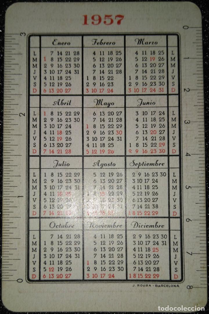 Calendario Del Ano 1957.Ano 1957 Calendario Roura De Hispano Olivetti Pluma 22