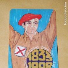 Collezionismo Calendari: CALENDARIO COMUNIÓN TRADICIONALISTA CARLISTA. AÑO 1988. (CARLISMO, REQUETÉ). Lote 157786390
