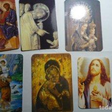 Coleccionismo Calendarios: LOTE CALENDARIOS RELIGIOSOS DIF.AÑOS. Lote 158231218