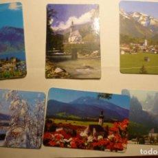 Coleccionismo Calendarios: LOTE CALENDARIOS PAISAJES - DIF.AÑOS . Lote 158232918
