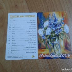 Coleccionismo Calendarios - Calendario 2006 -- Díptico -- Asociación pintores con boca y pie - 158277858