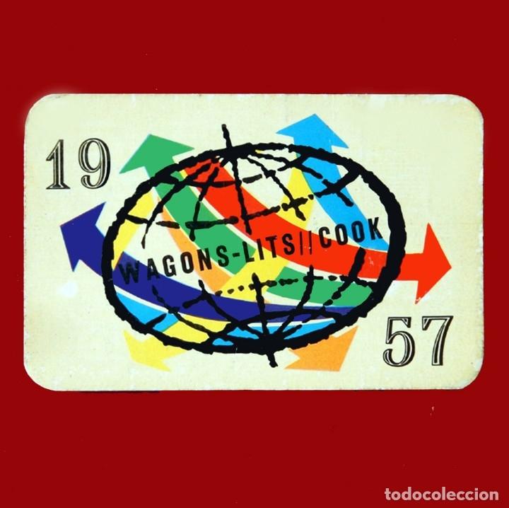 Calendario Del Ano 1957.Calendario De Mano Wagons Lits Cook Ano 1957 En Frances E Ingles Raro Dificil