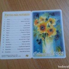Coleccionismo Calendarios - Calendario 2005 -- Díptico -- Asociación pintores con boca y pie - 158374350