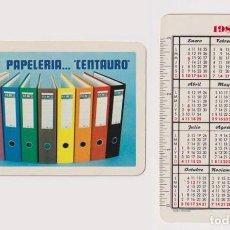 Coleccionismo Calendarios: CALENDARIO FOURIER. CENTAURO 1982. Lote 158432385