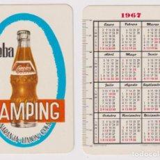 Coleccionismo Calendarios: CALENDARIO FOURIER. CAMPING 1967. Lote 158432541