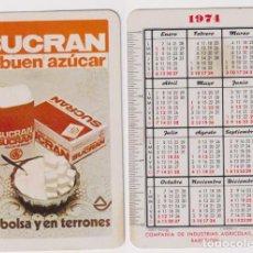 Coleccionismo Calendarios: CALENDARIO FOURIER. SUCRAN 1974. Lote 158432577