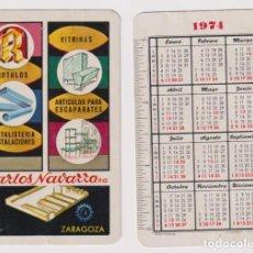 Coleccionismo Calendarios: CALENDARIO FOURIER. CARLOS NAVARRO 1974. Lote 158432605