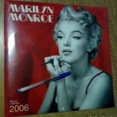 Coleccionismo Calendarios: CALENDARIO 2006 - MARILYN MONROE - SIN USAR, PRECINTADO -. Lote 158606957