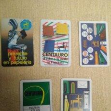 Coleccionismo Calendarios: LOTE FOURNIER CENTAURO. Lote 158625814