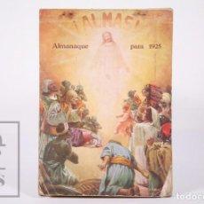 Coleccionismo Calendarios: CALENDARIO / ALMANAQUE CON IMÁGENES ¡ALMAS! PARA 1925 - MISIONEROS JESUÍTAS ÁFRICA, CHINA, INDIA,ETC. Lote 158692402