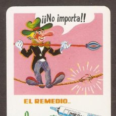 Coleccionismo Calendarios: CALENDARIO DE BOLSILLO PUBLICITARIO FOURNIER AÑO 1979 PEGAMENTO IMEDIO. Lote 158799582
