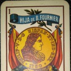 Coleccionismo Calendarios: AÑO 1962. CALENDARIO HIJA DE B. FOURNIER - BURGOS.. Lote 158991810