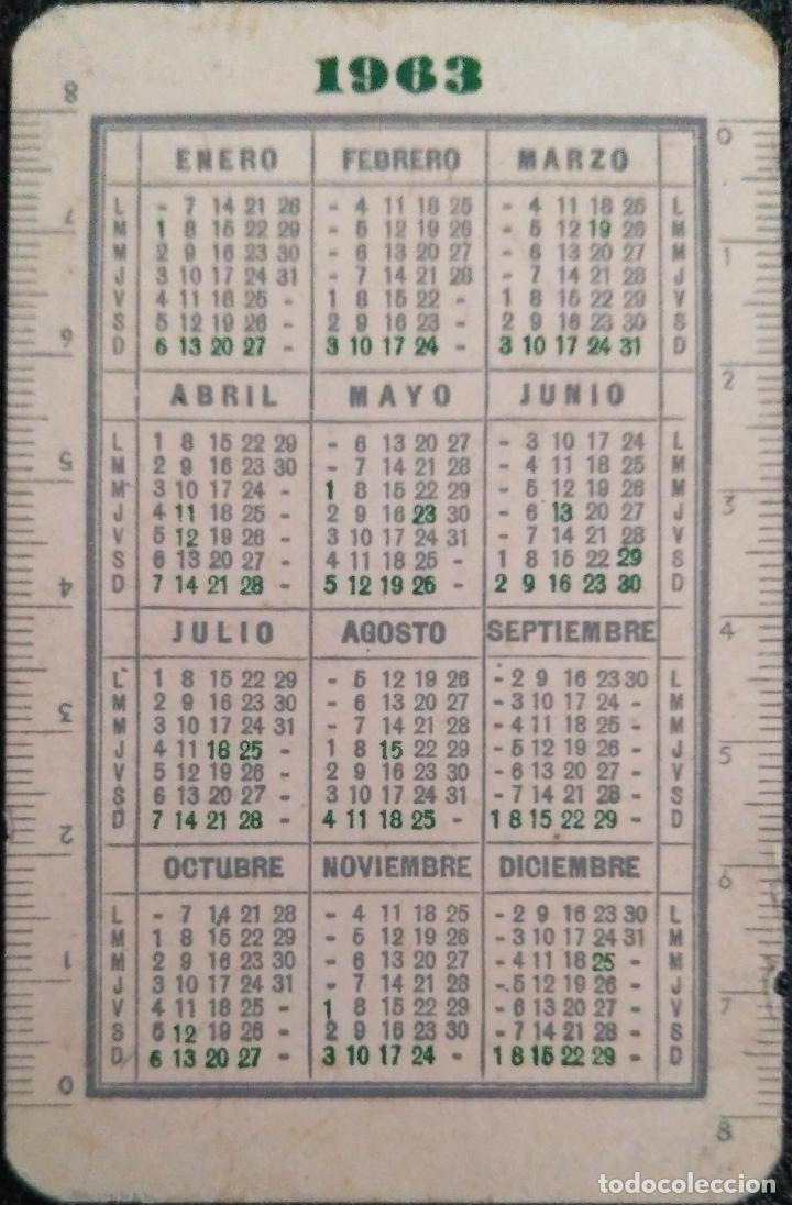 Coleccionismo Calendarios: AÑO 1963. CALENDARIO HIJA DE B. FOURNIER - BURGOS. - Foto 2 - 158992618