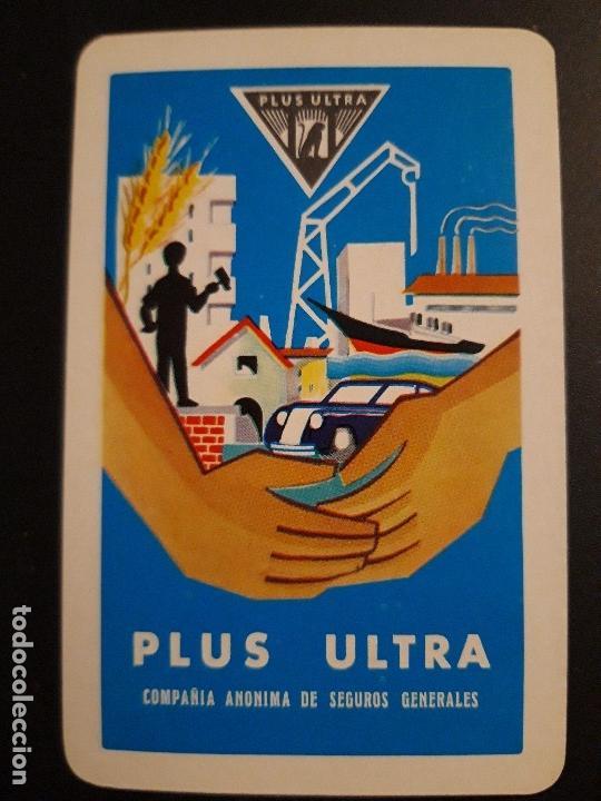 1 CALENDARIO DE H. FOURNIER ** SEGUROS GENERALES . PLUS ULTRA ** ¡¡¡¡ AÑO 1965 !!! (Coleccionismo - Calendarios)