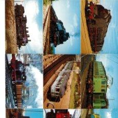 Coleccionismo Calendarios: COLECCION DE TRENES ANTIGUOS. Lote 159244366