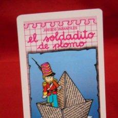 Coleccionismo Calendarios: CALENDARIO DE BOLSILLO COMAS NEGSA - JUEGOS INFANTILES - EL SOLDADITO DE PLOMO - AÑO 1992 -. Lote 159267254