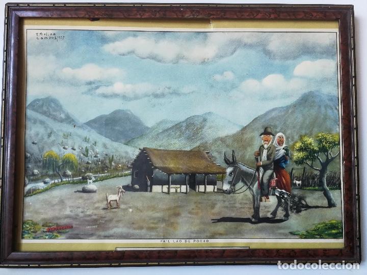 CALENDARIO ALMANAQUE ALPARGATAS - FLORENCIO MOLINA CAMPOS 1937 - PA'L LAO DE POCHO - 1945 - GAUCHOS (Coleccionismo - Calendarios)