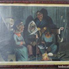 Coleccionismo Calendarios: CALENDARIO ALMANAQUE ALPARGATAS - FLORENCIO MOLINA CAMPOS 1931 - LAS LECHUZAS - 1945 - GAUCHOS. Lote 159678766