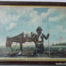 Coleccionismo Calendarios: CALENDARIO ALMANAQUE ALPARGATAS - FLORENCIO MOLINA CAMPOS 1939 - PA UNA PATRIADA - 1945 - GAUCHOS. Lote 159679194