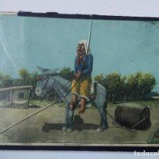 Coleccionismo Calendarios: CALENDARIO ALMANAQUE ALPARGATAS - FLORENCIO MOLINA CAMPOS 1936 - ACARRIANDO AGUA - 1945 - GAUCHOS. Lote 159679394