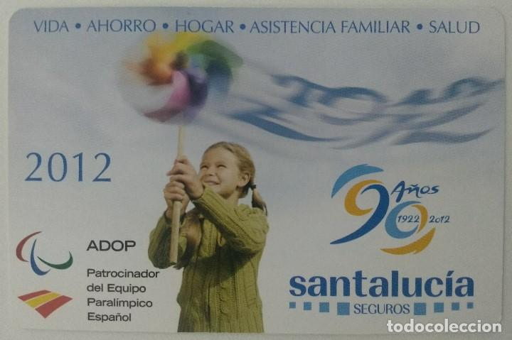 Santa Lucia Calendario.Calendario Seguros Santa Lucia Ano 2012