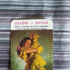 Coleccionismo Calendarios: CALENDARIO 1977 ULLOA OPTICO. Lote 160218406