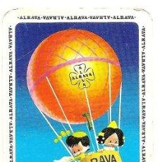 Coleccionismo Calendarios: CALENDARIO DE BOLSILLO ALRAVA EXPORTACIONES AGRÍCOLAS S.A. AÑO 1972 - ARLIT. Lote 160396502