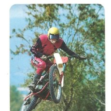 Coleccionismo Calendarios: CALENDARIO DE BOLSILLO MOTOCROSS AÑO 1984 EDITA D.L.B. 7640/83 - MP34 ALMACENES GABRIEL VALENCIA. Lote 160501278