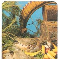 Coleccionismo Calendarios: CALENDARIO DE BOLSILLO MOTIVOS CAZA AÑO 1978 GA SERIE BO-5144 BAR SÁNCHEZ PUEBLA LARGA. Lote 160501854