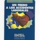 Coleccionismo Calendarios: CALENDARIO BOLSILLO - INSTITUTO NAVARRO DE SALUD LABORAL INSL - AÑO 1997. Lote 160698830