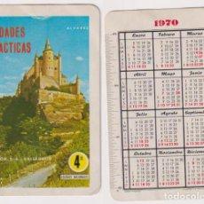 Coleccionismo Calendarios: CALENDARIO FOURNIER. UNIDADES DIDÁCTICAS ÁLVAREZ 1970. Lote 160899953