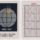 Coleccionismo Calendarios: CALENDARIO FOURNIER. MONTE DE PIEDAD Y CAJA GENERAL DE AHORROS DE BADAJOZ 1975. Lote 160901566