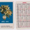 Coleccionismo Calendarios: CALENDARIO FOURNIER. CAJA DE AHORROS PROVINCIAL DE ZAMORA 1975. Lote 160901570