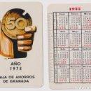 Coleccionismo Calendarios: CALENDARIO FOURNIER. CAJA DE AHORROS DE GRANADA 1975. Lote 160901574