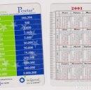 Coleccionismo Calendarios: CALENDARIO FOURNIER. CAJA DE GRANADA LA GENERAL 2001. Lote 160901586