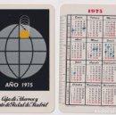Coleccionismo Calendarios: CALENDARIO FOURNIER. CAJA DE AHORROS Y MONTE DE PIEDAD DE MADRID 1975. Lote 160901590